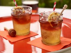 Get inspired with our favorite summer drinks and cocktails like sangria, mojitos, iced tea and more from Food Network.