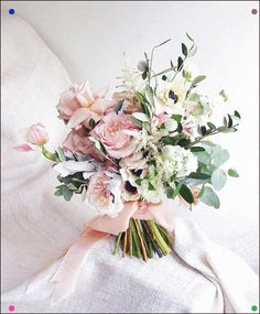 Most Popular Bridal Bouquets Ever wonder what the most-requested bridal bouquets are? Jo of Floral Magic weighs in and shares some of the most sought after styles. Bridal Bouquet Pink, Summer Wedding Bouquets, Blush Bridal, Diy Wedding Flowers, Wedding Flower Arrangements, Flower Bouquet Wedding, Bridesmaid Bouquet, Floral Wedding, Spring Wedding