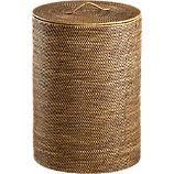"Sedona Hamper $99.95  17"" diameter x 24"" H"