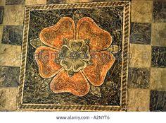 Tudor period Tudor Rose motif painted on ceiling of the dining room. Tudor History, British History, Renaissance, Age Of King, Tudor Monarchs, Vikings, Tudor Dynasty, Tudor Era, King Henry Viii
