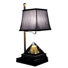 I pinned this Pyramid Table Lamp from the Style Study event at Joss & Main!