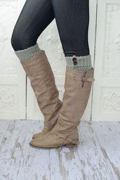 three bird nest - cute lace leg warmers, boot socks socks