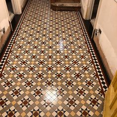 We specialise in Victorian Hallway Tiles and we offer an expert services in sorcing and laying traditional Victorian floor tiles hallway Hall Tiles, Tiled Hallway, Hallway Flooring, Victorian Tiles Bathroom, Victorian Mosaic Tile, Mosaic Tiles, Tiling, Tiles London, Hallway Colours