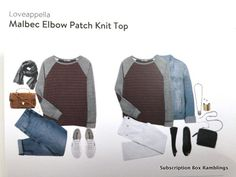 Love this sweater-great color and elbow patches are always awesome