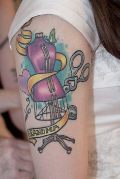 Crafty sewing tattoo, Craftster.org