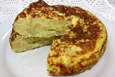 la tradicional tortilla.