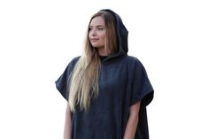 The COR Changing Poncho: Soft, Warm, Cozy Made with lightweight quik-dry Micro fiber #surfer