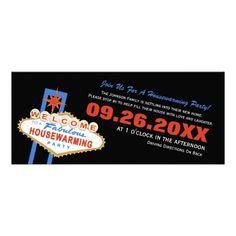 Military retirement party personalized invitation pinterest las vegas sign housewarming party invitation stopboris Images