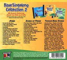Bible Singalong Collection 2 Back Cover