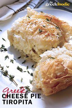 Easy Greek Cheese pie - Tiropita