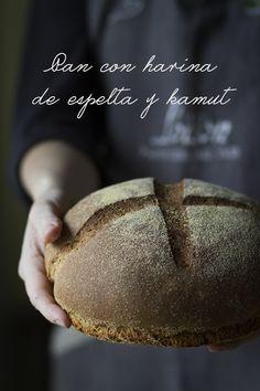 Pan de espelta y kamut {A mi lo que me gusta es cocinar}