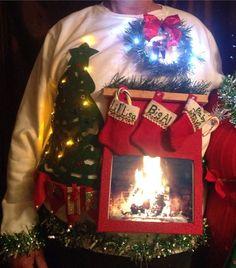 Snow Globe Diy Ugly Sweater Diy Ugly Christmas Sweater