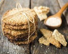 Biscuits au sésame fait maison gluten free