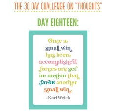 30 Day Challenge Day 18