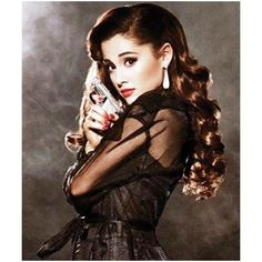 Ariana Grande Poses For Complex ❤ liked on Polyvore featuring ariana grande, people, ariana, models and ariana grande.