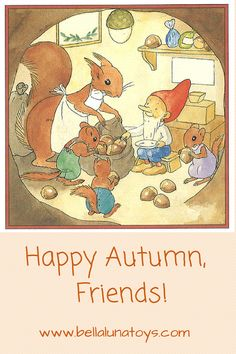 Happy Autumn from Bella Luna Toys!