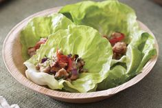 Whip up these light and tasty lettuce wraps in a snap!