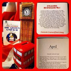 Die Queen und ich von Sue Townsend.  Das britische Königshaus ist abgesetzt und die Queen, Charles und Diana müssen jetzt in Sozialwohnungen leben.  Wie die Royals mit der neuen Situation umgehen, hat mich ganz oft zum Schmunzeln gebracht.  #suetownsend #royals #uk #satire #buch #bücher #lesen #windsor