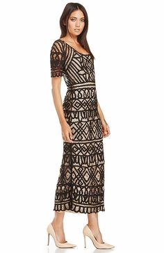 Stone Cold Fox Denver Lace Dress in Black One Size | DAILYLOOK