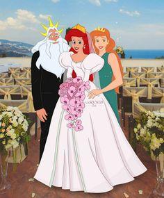 Princesa Ariel Da Disney, Rapunzel Disney, Disney Princess Drawings, Disney Princess Dresses, Disney Drawings, Tema Disney, Disney Fan Art, Disney Love, Disney Mignon