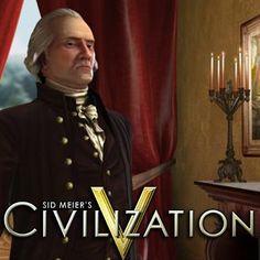 Sid Meier's Civilization® V I love playing as America