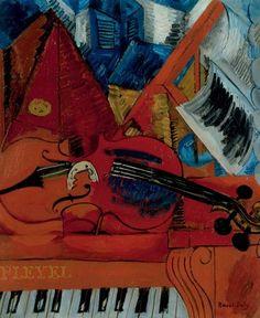 The Violin Artwork By Raoul Dufy Oil Painting & Art Prints On Canvas For Sale Raoul Dufy, Henri Matisse, Renoir, Monet, Art Fauvisme, Maurice De Vlaminck, Oil Painting Reproductions, Kandinsky, Art Music