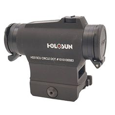 HOLOSUN Circle Dot Solar Sight 2 MOA Dot 65 MOA Circle Black >>> You can get additional details at the image link.