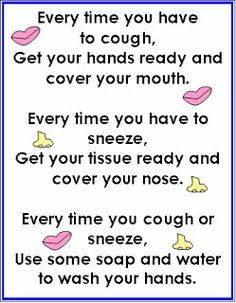 Little Fingers That Play: Every Time You Have to Cough