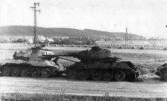 Risultati immagini per russian tanks 1945 T 34, Tiger Ii, Ww2 Tanks, Military Equipment, Armored Vehicles, Military Vehicles, World War, Wwii, Steel