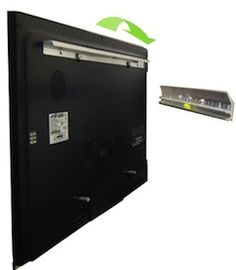 Most wall mounts for flat panel displays are bulky, ugly, and require a lot of work to install. This solution negates all of that and even has a built in level to make sure you hang that sucker perfectly.