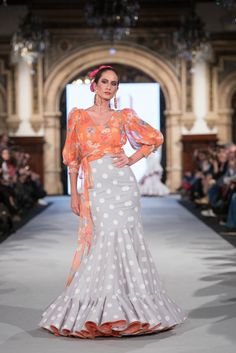 Mónica Mendez - We Love Flamenco 2018 - Sevilla Flamenco Costume, Flamenco Skirt, Flamenco Dresses, Top Model Fashion, Retro Fashion, Boho Wedding Dress, Boho Dress, Spanish Fashion, Indian Designer Wear