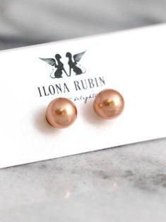Buy Now Pearl Earrings Gold Pearl Earrings Bridal Pearl...