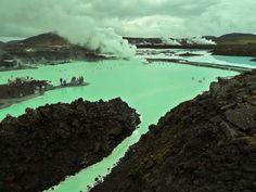 Iceland, Blue Lagoon Spa 2012
