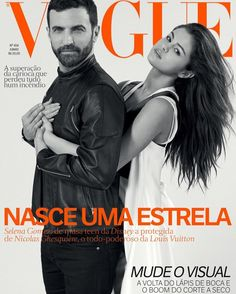 Nicolas Ghesquière and Selena Gomez on Vogue Brazil June 2016 Cover