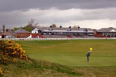 Musselburgh Links, a short first hole track, must play since it is the oldest course in the world