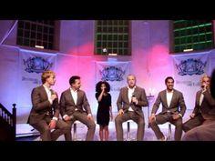Los Angeles, The Voices Ft. Aaliyah zingen Miss You Most at Christmas Time.  bij de Album Presentatie in de Buiksloterkerk in Amsterdam-Noord