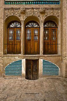 Boroujerdi House, Kashan, Iran #iran #persia