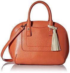 Women's Top-Handle Handbags - Nine West Ellisha Satchel Coral Petal -- Check this awesome product by going to the link at the image.