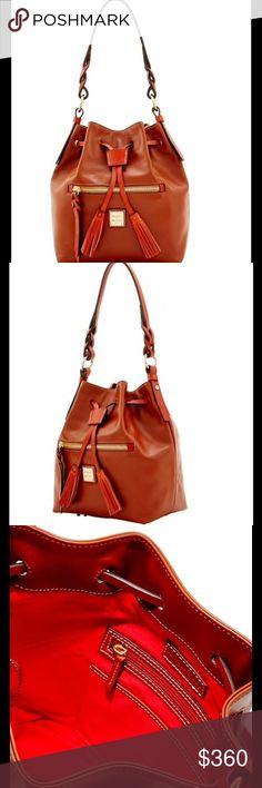 DOONEY BAG Tan Dooney&Bourke drawstring bag Dooney & Bourke Bags Shoulder Bags