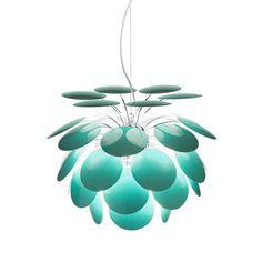 Discoco Pendant Light & Marset - love it! Vanity Lighting, Home Lighting, Modern Lighting, Lighting Design, Pendant Lighting, Pendant Lamps, Ceiling Pendant, Light Pendant, Kitchen Lighting