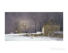 Evening at Long Farm Poster by Ray Hendershot at AllPosters.com