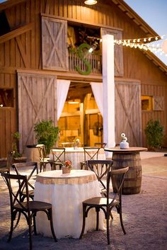 elegant rustic barn wedding table decoration ideas