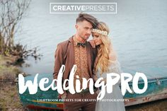 Wedding Pro 10 Lightroom Presets by CreativePresets.com on @creativemarket