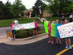 GOTR OKC. Bake sale/ lemonade stand benefiting inner city running group.