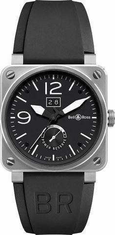 Bell & Ross BR 03-90 Grande Date - Reserve de Marche BR-03-90-GD-RM