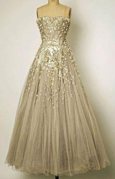 Vintage Dior dress.