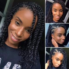 #TheBeautyOfNaturalHairBoard Protective Hairstyles For Natural Hair, Natural Hair Braids, Braids For Black Hair, Natural Hairstyles, Hair Twist Styles, Curly Hair Styles, Braid Styles, Locs, Twist Braid Hairstyles