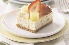 Banana Split Cheesecake Squares recipe