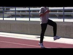 Sprint Drills for Speed, Run Faster, Plyometrics, Jump Higher by David Warren (Dave King) part Plyometrics, Calisthenics, Tennis Trainer, Speed Training, High Jump, Flexibility Workout, Hurdles, How To Run Faster, Tennis Players