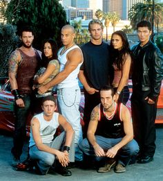 Franchise Fast and Furious au fil des ans - Paul Walker - Voiture Fast And Furious Cast, The Furious, Michelle Rodriguez, Vin Diesel, Movie Stars, Movie Tv, Dominic Toretto, Devon Aoki, Celebrities